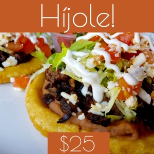 $25 gift card to la cantina grill in chicago