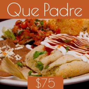 $75 restaurant gift card to chicago mexican restaurant la cantina