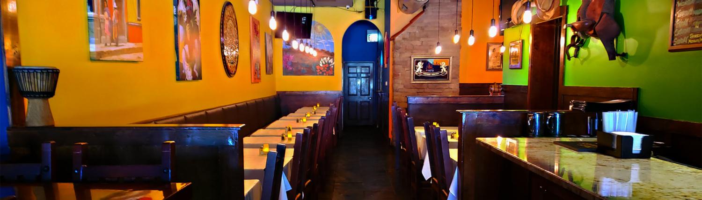 dining room at la cantina restaurant near mccormick place